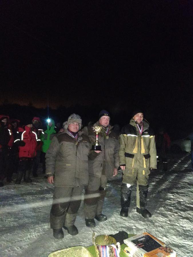 Протоколы технических результатов Областных соревнований Тульской области по ловле на мормышку со льда 16 декабря 2018 года