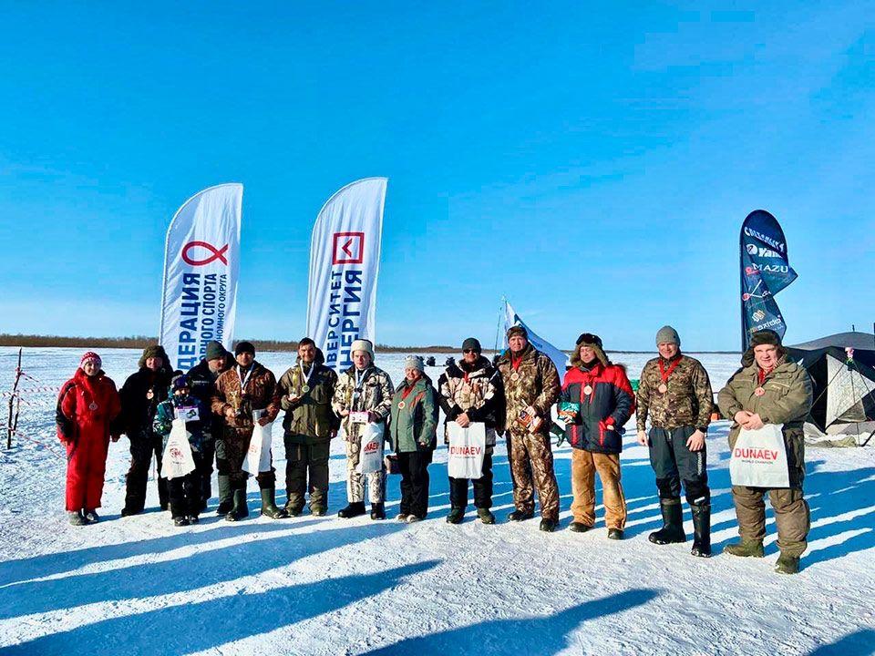 Отчет о проведении первых официальных соревнований по ловле на блесну со льда в Ненецком автономном округе