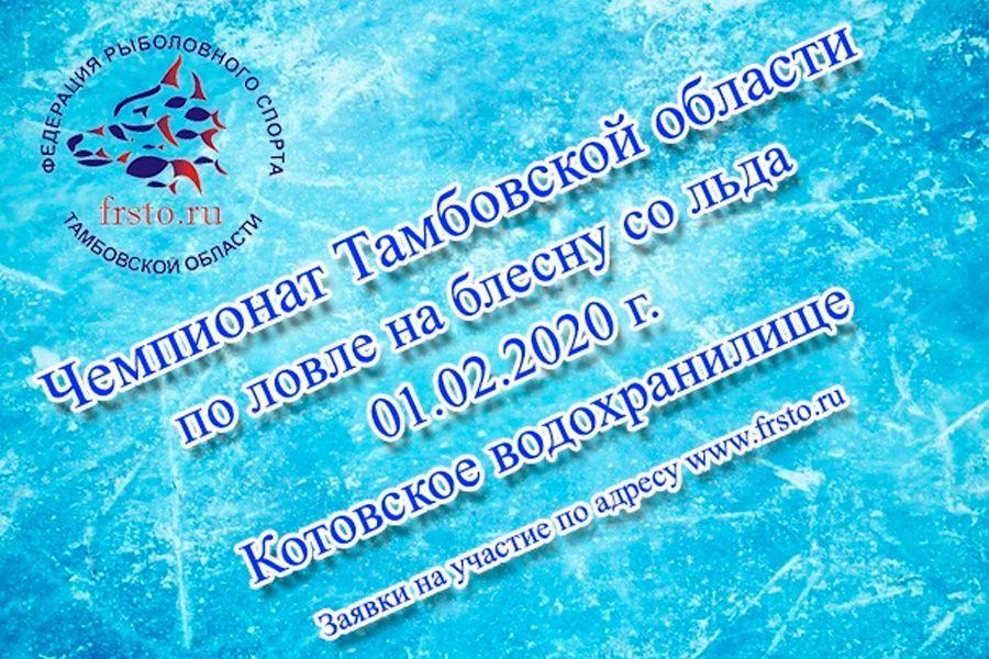 Чемпионат Тамбовской области по зимней блесне 01.02.2020, Котовское водохранилище