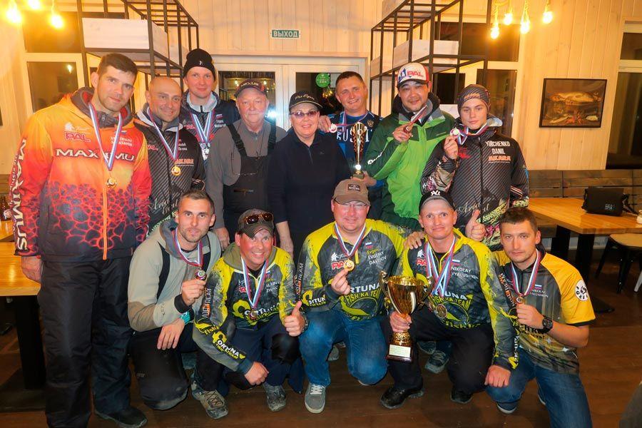 Итоги Чемпионата Санкт-Петербурга по ловле спиннингом с берега прошедший на РК «Рыбные Пруды»