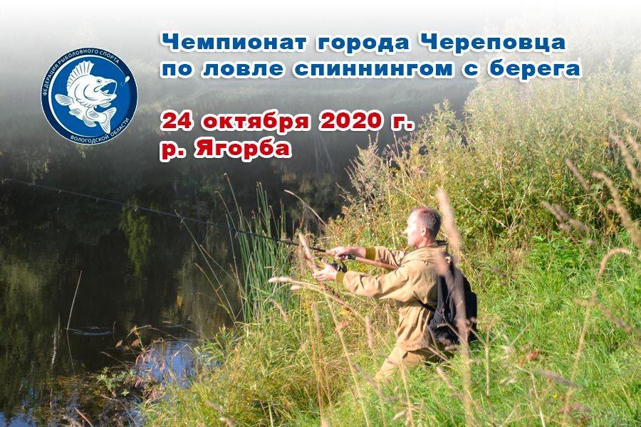 Чемпионат города Череповца по ловле спиннингом с берега 24 октября 2020 г., р. Ягорба