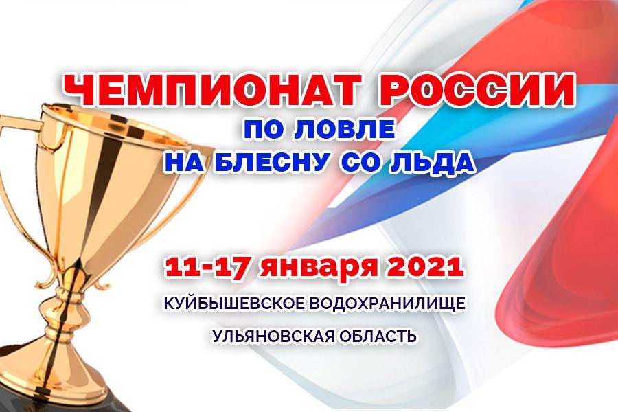 Чемпионат России по ловле на блесну со льда с 11 по 17 января 2021 года, Ульяновская область, Куйбышевское водохранилище
