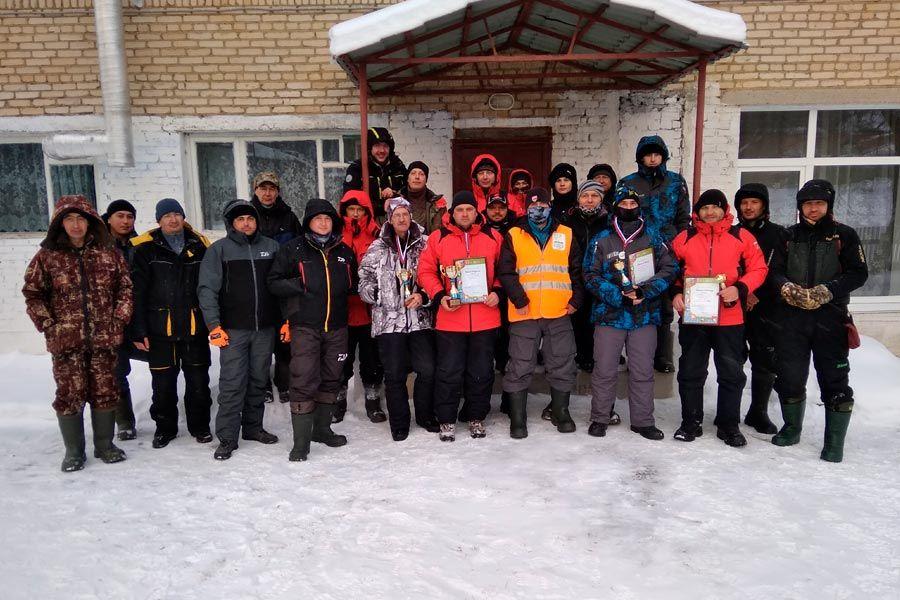 Итоги Чемпионата г. Усть-Катава по зимней блесне