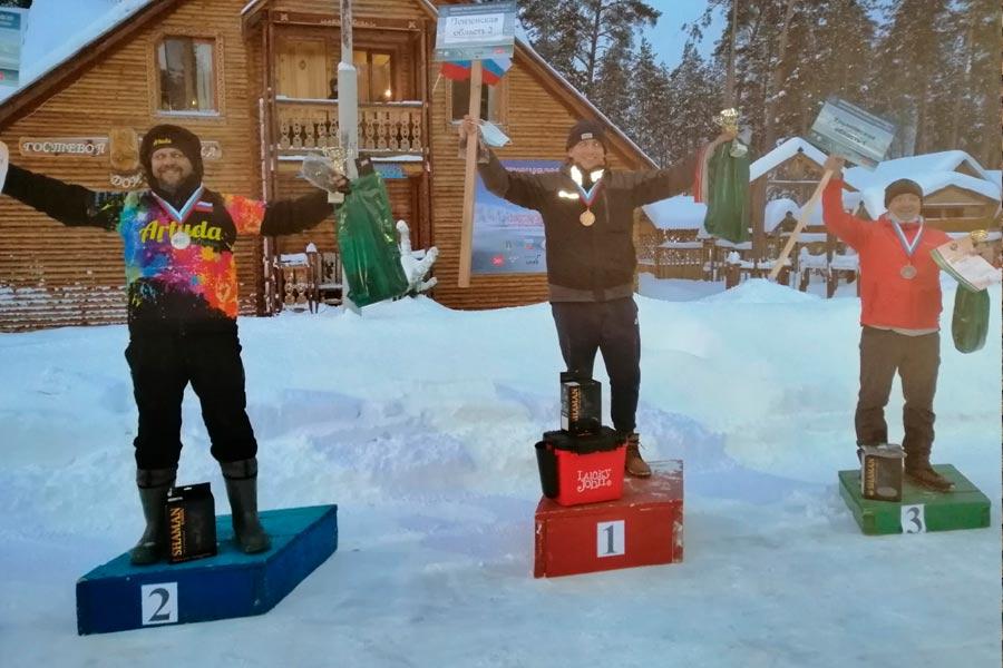 Финишировал Чемпионат России по ловле на блесну со льда в Ульяновской области