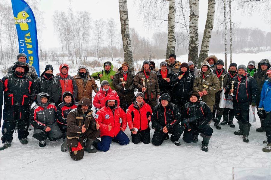 Итоги Чемпионата Ивановской области по ловле на блесну со льда прошедшие 7 марта на реке Уводь