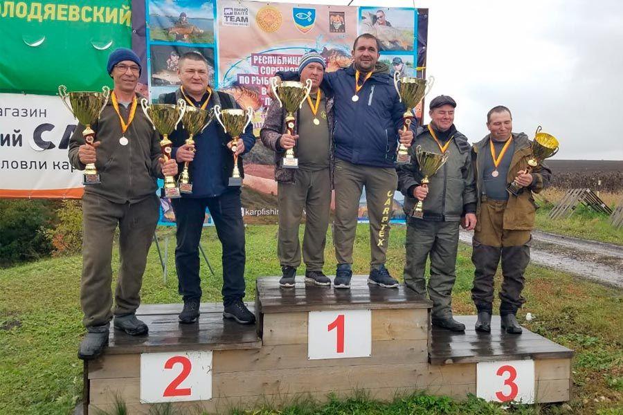 Итоги Чемпионата Чувашской Республики по ловле карпа