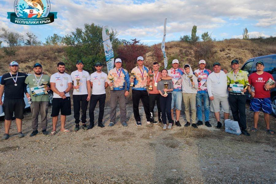 Итоги Чемпионата Республики Крым по ловле донной удочкой