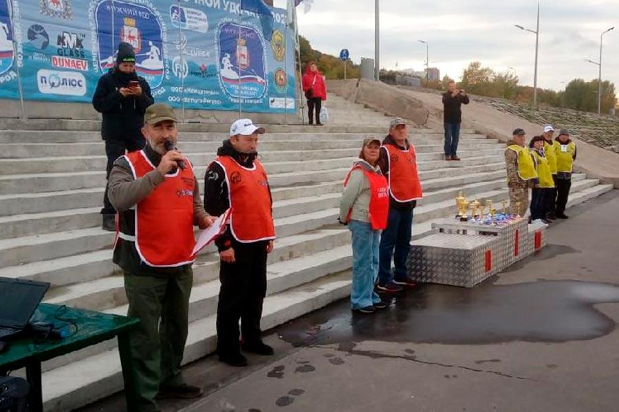 Стартовал Чемпионат России по ловле поплавочной удочкой